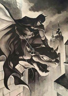 Batman by by Meghan Hetrick