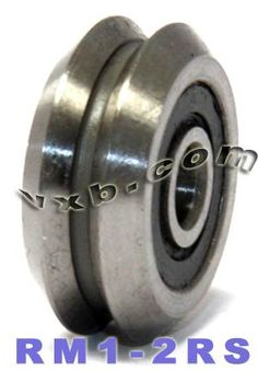 """RM1-2RS 1 PC FACTORY NEW 3//16/"""" V-GROOVE SEALED BEARING SHIPS FROM THE USA"""