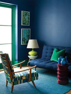 Plascon inky blue