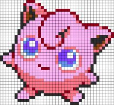 Jigglypuff Perler Bead Pattern / Bead Sprite