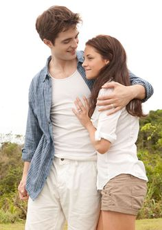 Edward & Bella on Isle Esme