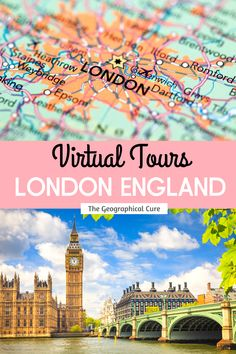 Do you wish you were in London? Or need some destination or cultural inspiration ? Now, you can experience London online. This London travel guide gives you 21 virtual tours of London's must see sites and historic landmarks, that you can enjoy right from your couch or computer. Via the wonders of armchair travel, these virtual tours can help you assemble an itinerary for London. London Destinations | Virtual Tours | Virtual Travel | Online Learning | What To Do In London | Things To Do In…