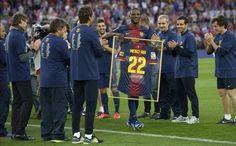 Abidal eres grande, te apoyamos en todo gracias por los 6 años de defender la camisa Blaugrana siempre serás recordado como un crack!