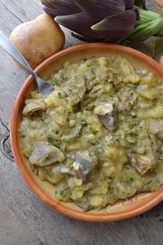 carciofi e patate alla toscana ricetta (40)  #alla #carciofi #patate #ricetta #Toscana