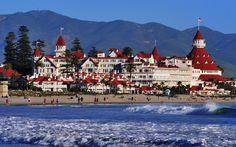 #weddingvenues Hotel del Coronado in Coronado, CA_Halloween Wedding Site_wedding fashion finds