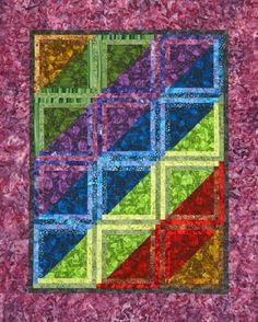 Rainbow Quilt Patterns | AllPeopleQuilt.com