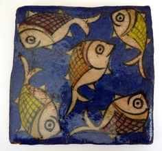 persian antique style ceramic tile - might be fun for bathroom