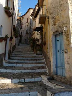 Itri's historic centre, South Lazio, Italy #itri #lazio #italy
