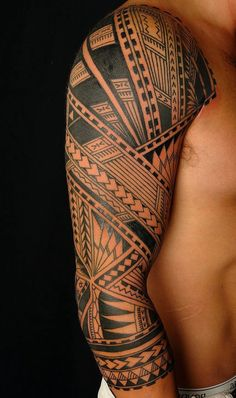 tribal male closed arm tattoo - tribal male closed arm tattoo: no arm arm bracelet design shoulder pectoral back Hawaiian Maori sim - Maori Tattoo Meanings, Maori Tattoos, Filipino Tattoos, Sun Tattoos, Irezumi Tattoos, Marquesan Tattoos, Tattoos For Guys, Tattoo Sun, Tattoo Tribal