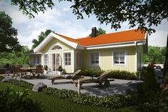 Haus TALLÅSEN, Bungalow, ca. 131 m² [GfG Schwedenhäuser]