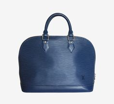 Louis Vuitton Blue Handbag