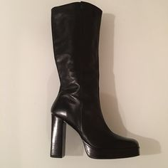 Bakers leather boots Bakers brand leather boots. Looks brand new Bakers Shoes Winter & Rain Boots