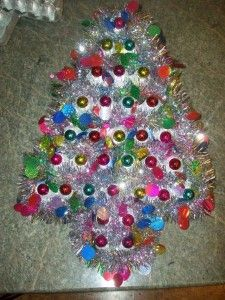 Egg Carton Xmas Tree