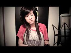 """""""I Won't Give Up"""" by Jason Mraz (Christina Grimmie Cover)  This is my favorite version of this song. <3"""