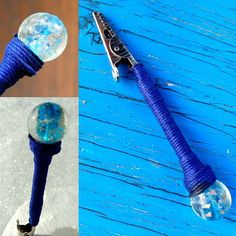 Celestial High #RoachClip  #420life #weed #cannabis  This roach clip is handmade and wrapped with blue hemp and features a celestial bead. Check out our website in our profile to buy!  It's also a great help when fastening your bracelet!  http://ift.tt/2n7V67k  #stonergirl #bud #joint #roach #weed #weedstagram #420friendly #blaze #spliff #sativa #indica #ganja #marijuana #bud #maryjane #stoner #cannabisculture #cannabiscommunity #weedart #etsy #etsyshop #etsylove