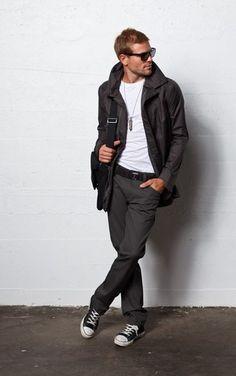 シックなメンズファッション|男性ファッションスナップ日記