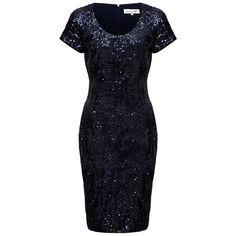 Buy Damsel in a dress Pisa Dress, Navy, 8 Online at johnlewis.com