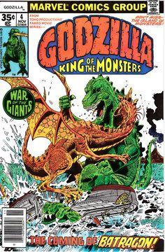 Godzilla 4 1st Series November 1977  Marvel Comics  Grade