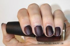 "PerfectlyPolished12: Sally Hansen's ""Big Matte Top Coat"" over OPI's ""Every Month Is Oktoberfest"""