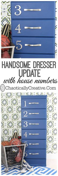 Painting A Dresser - Chaotically Creative