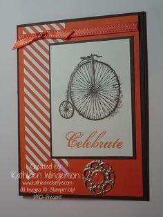 Sale-a-bration, Feeling Sentimental stamp set, designer series paper, ribbon, designer builder brads