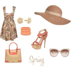 Spring, created by armybrat9110 on Polyvore