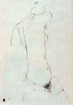 the night picture collector - last-picture-show: Egon Schiele, Sketch ( a...