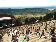 Getting fit never felt or looked so good red rocks park yoga at red rocks colorado looks amazing malvernweather