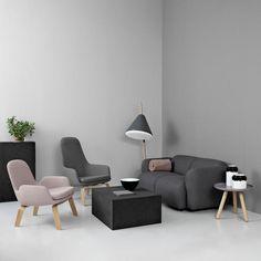 Era Lounge Chair - Low