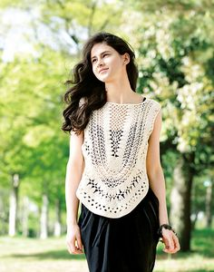 Ravelry: 215s-03 Neox Tanktop pattern by Pierrot (Gosyo Co., Ltd)