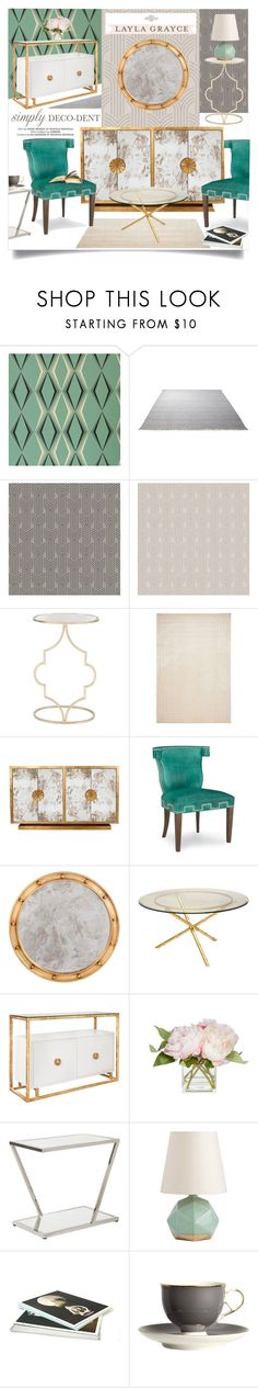 """Simply Deco-Dent With Layla Grayce"" by ivansyd ❤ liked on Polyvore featuring interior, interiors, interior design, home, home decor, interior decorating, Graham & Brown, ESPRIT, Worlds Away and Ralph Lauren"