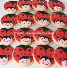 Cute Love Bug cookies
