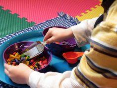 Different Montessori activities