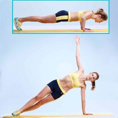 Push-up Side Plank - these feel AWESOME!