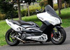 Yamaha TMax 500 make-over
