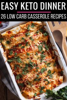 Looking for easy keto diet recipes? These are the best low carb keto casserole recipes for weight loss on the ketogenic diet! Whether you're looking for quick ketogenic diet recipes using chicken or beef, or need vegetarian options, you'll find a new favorite in this collection of quick & easy keto diet recipes for breakfast, lunch, and dinner! #keto #ketorecipes #ketodiet #ketogenic #ketogenicdiet #weightlossrecipes #lowcarb #LCHF
