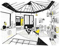 Spray architecture : Salle de Boxe Thaïlandaise - ArchiDesignClub by MUUUZ - Architecture & Design