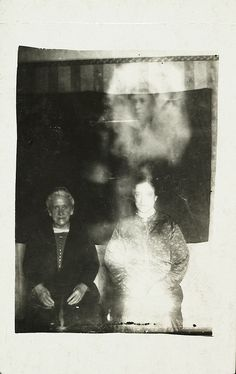Creator: William Hope (1863 - 1933) Date: c. 1920 Collection: National Media Museum Collection Inventory no: 2002-5054/17/2 Blog: G is for ghosts... the birth and rise of spirit photography  A woman's face appears above the heads of the women, surrou Lean In: Women, Work, and the Will to Lead