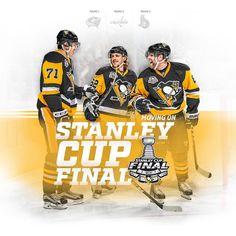 We're baaaaack! Stanley Cup Final, here we come! #StanleyCup