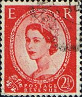 Great Britain 1955 Queen Elizabeth II Definitive SG 544 Fine Used Scott 321 Other British Commonwealth Stamps HERE!