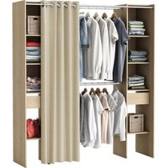 Dressing pas cher pour un rangement d co de la chambre dressings and dressi - Dressing le roy merlin ...