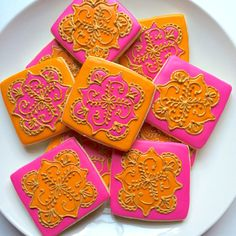 Hey, I found this really awesome Etsy listing at https://www.etsy.com/listing/193322766/mehndi-henna-inspired-cookies-square
