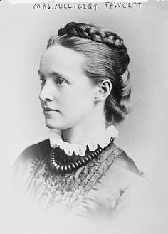 Mrs. Millicent Garrett Fawcett, British suffragette and feminist