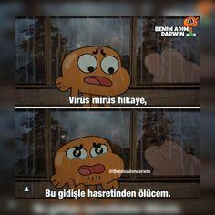 Learn Turkish Language, World Of Gumball, Cartoon Memes, Mood, Galaxy Wallpaper, Darwin, Happy Kids, Marvel Avengers, Pikachu