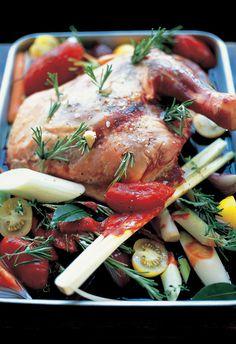 slow-cooked shoulder of lamb with roasted vegetables | Jamie Oliver | Food | Jamie Oliver (UK)