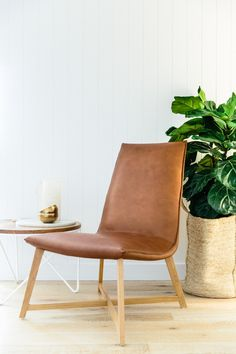 Industrial Iron Leather Chair. By C+M Studio, Photography By Caroline  McCredie Awesome Ideas