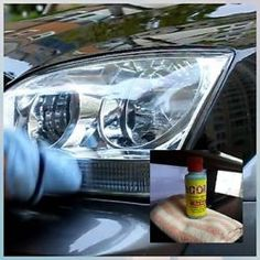 HEADLIGHT RESTORATION KIT☆POLISHER LENS RENEW☆RESTORE☆CLEAN☆CLEAR☆YELLOW☆REMOVE☆