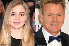 Days after Lily-Rose Depp stunned at a New York fashion show, how many other celebrity daughters are just like their famous fathers? Matilda Ramsay, Tilly Ramsay, Celebrity Daughters, Chef Gordon Ramsay, Gordon Ramsey, Lily Rose Depp, Food Design, Kids And Parenting, Daddy