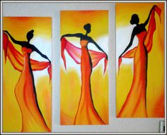 Oil paintings – Rosario Caraballo – Join the world of pin African Art Paintings, Oil Pastel Paintings, Oil Pastel Art, Multi Canvas Art, Simple Oil Painting, Acrylic Pouring Art, Indian Folk Art, Art Africain, Naive Art