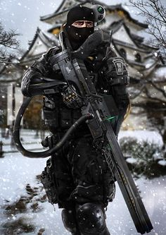 NEO JAPAN 2202, Phelan A. Davion on ArtStation at https://artstation.com/artwork/neo-japan-2202